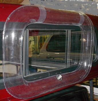 Truck Cap Window Boot Part 20000 Mid Size Inside