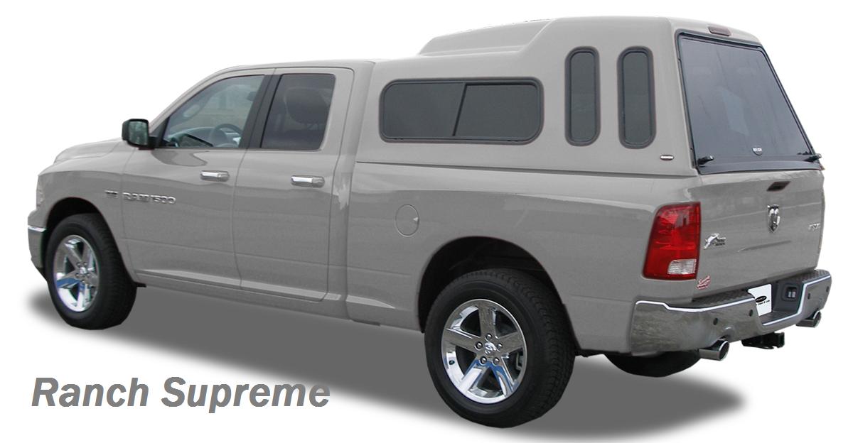 Ranch Supreme Series Fiberglass Truck Cap Sale 1450 00