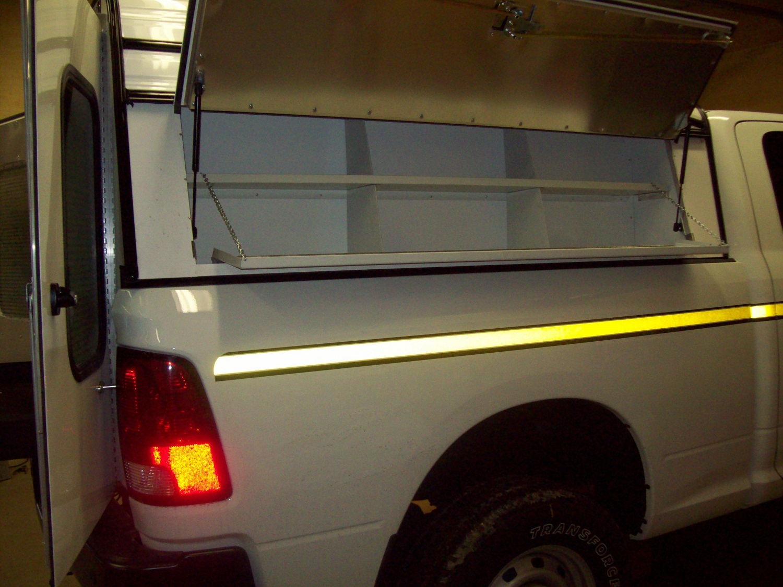 Leer Tonneau Cover >> Swiss Commercial HDU Aluminum Commercial Truck Cap ...