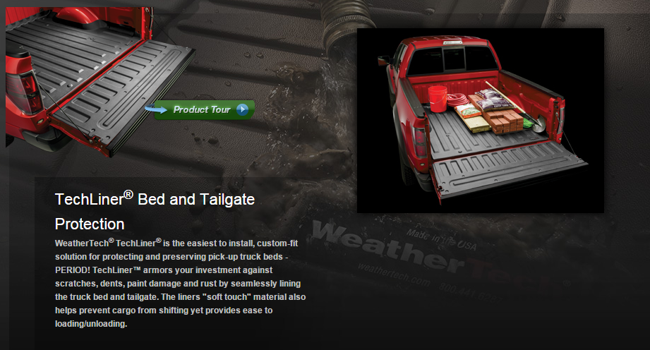 Weather Tech Tech Liner Truck Bed Protection Sale 175 00