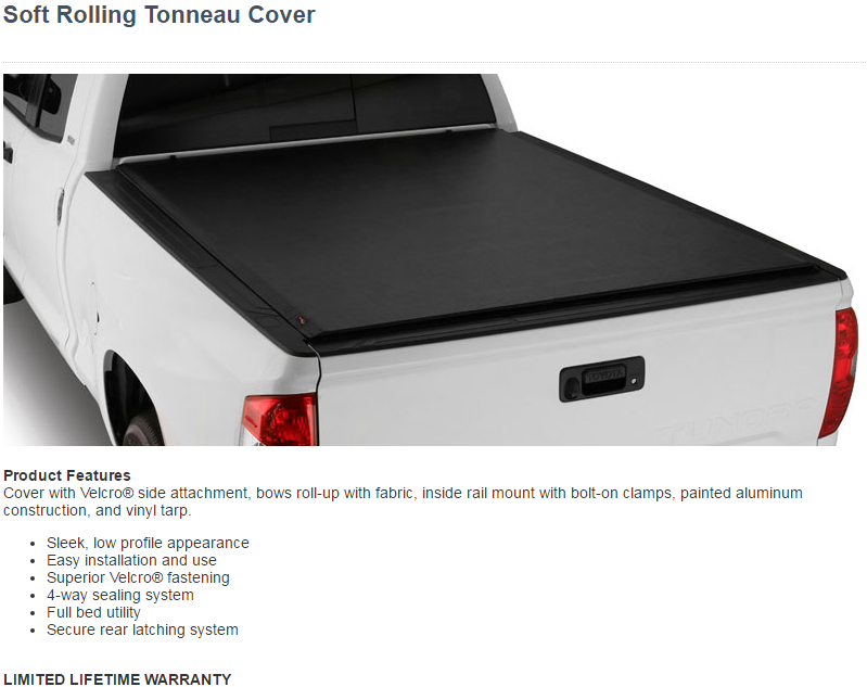 Trail Fx Soft Tonneau Cover Low Profile 325 00 Installed Ishler S Truck Caps