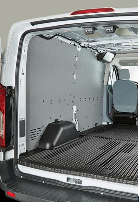 Penda Form Van Guard Van Wall Panels Ishler S Truck Caps